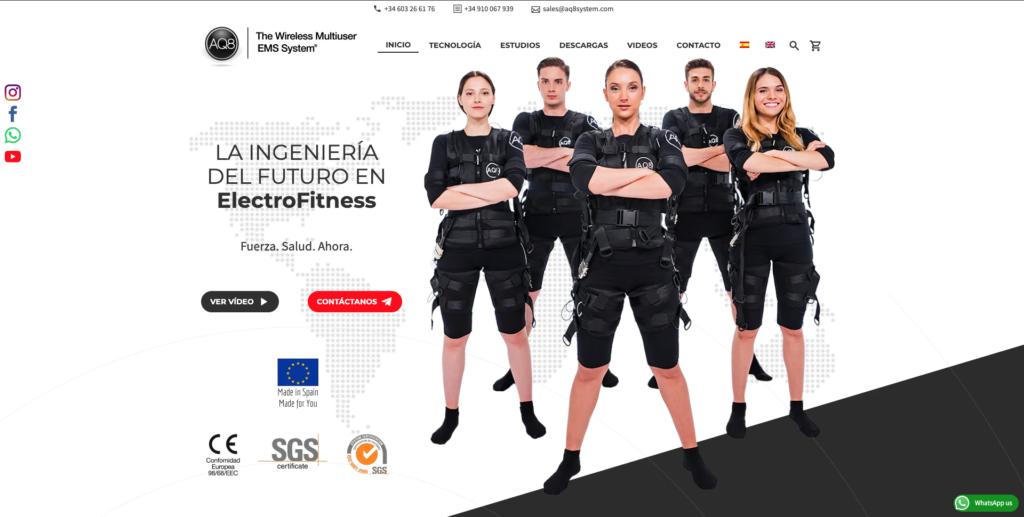 Español Inicio | AQ8 System