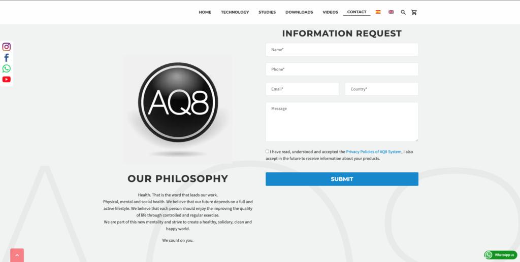 Form | AQ8 System