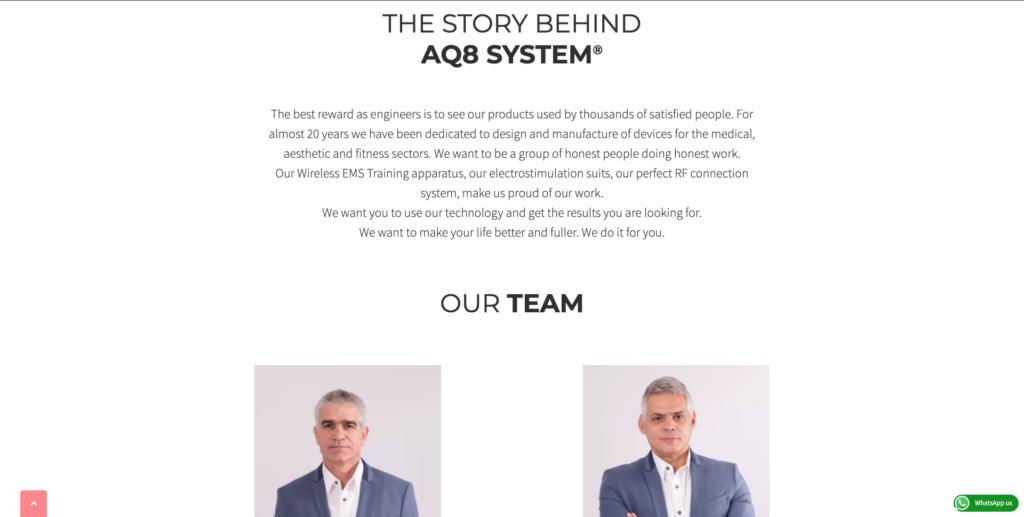 Story | AQ8 System