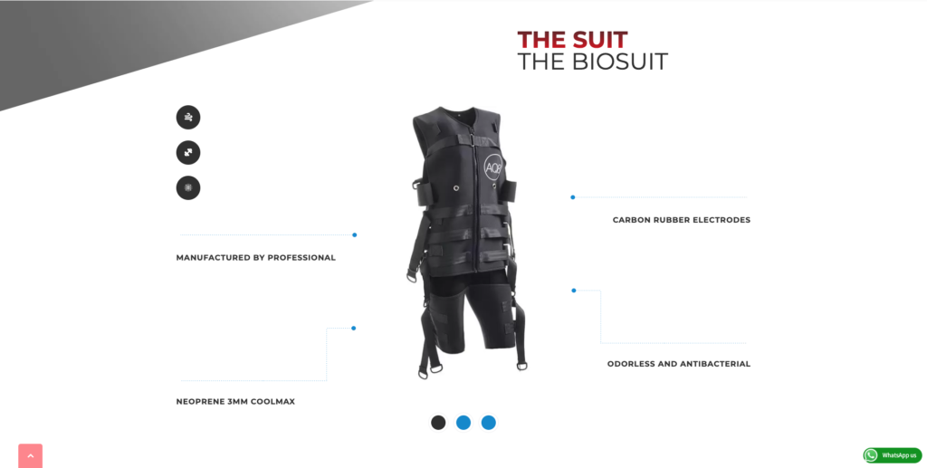 The Suit | AQ8 System