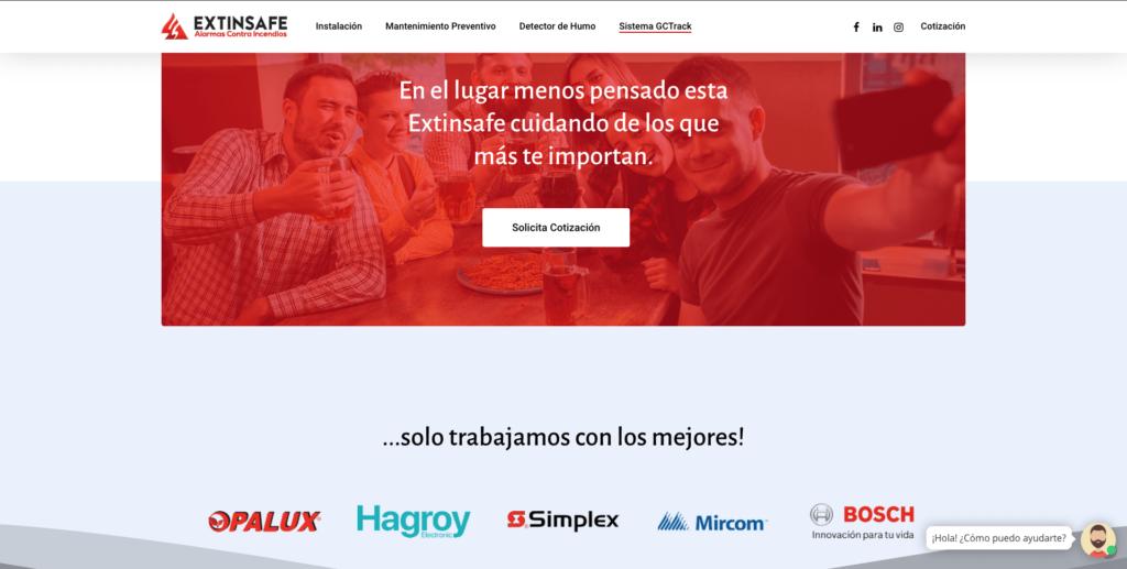 Distribuidores | ExtintoresHumo.com | Carlos Vera - VeraDesign