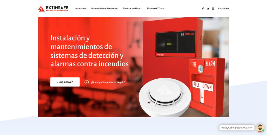 Inicio | ExtintoresHumo.com | Carlos Vera - VeraDesign