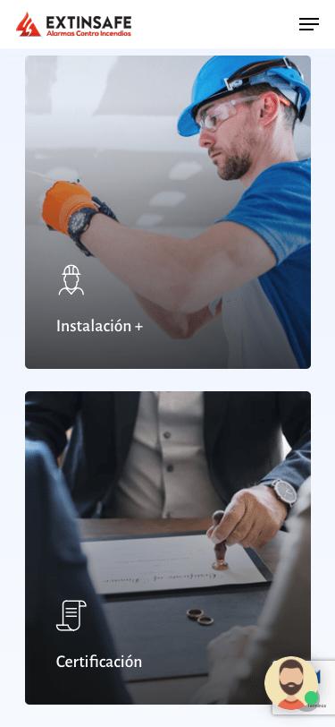 Mobile | ExtintoresHumo.com | Carlos Vera - VeraDesign